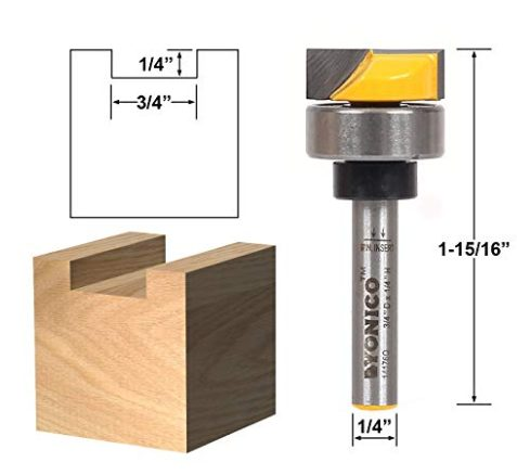 What router bit to use for door hinges